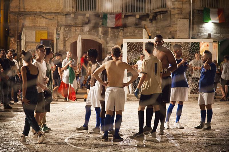 Il Mondiale in Piazza Vito Palmieri
