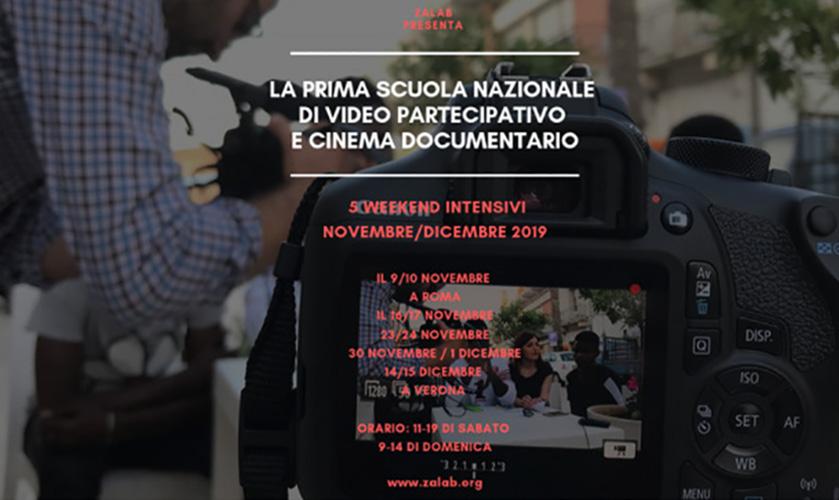 Anteprima Scuola Nazionale Video partecipativo