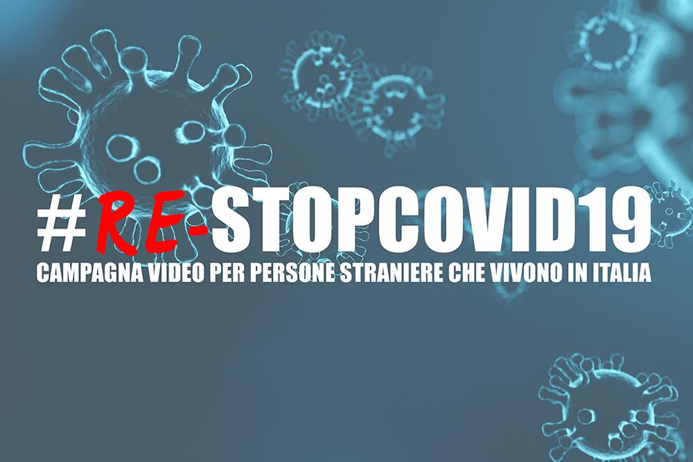 campagna re-stopcovid19 stranieri