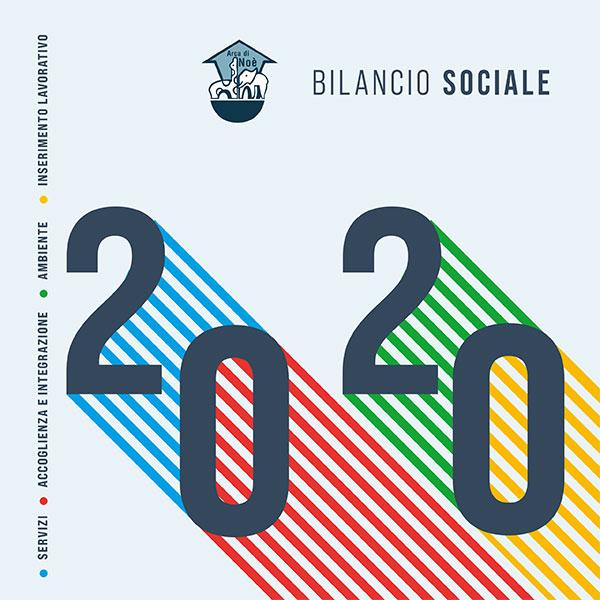 Cover Bilancio Sociale 2020 Arca di Noè